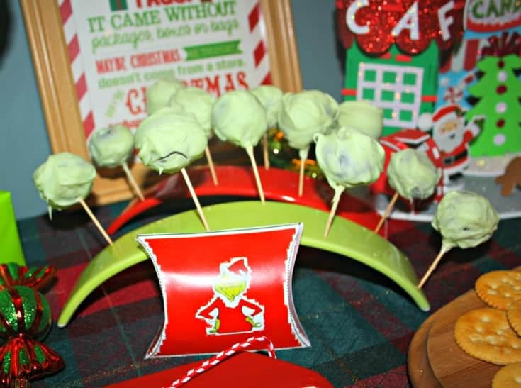OREO Truffle Balls and Whoville party favours