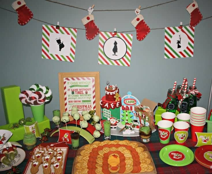 Whoville Christmas Party with OREO and RITZ Snacks