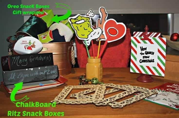 OREO snack boxes as stocking stuffers