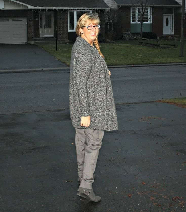 Joe Fresh Pants and a Vanheusen Sweater