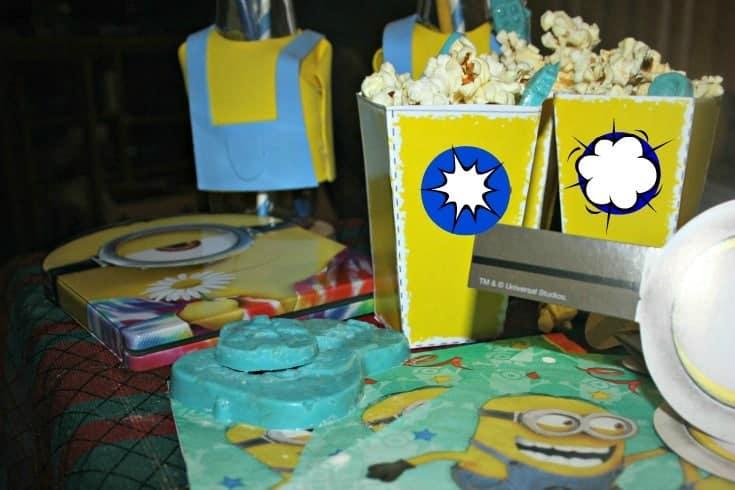 Minions movie night with Target