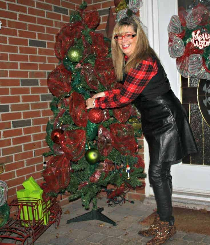 F 21 Leather Dress with Buffalo plaid shirt and some leopard boots 8