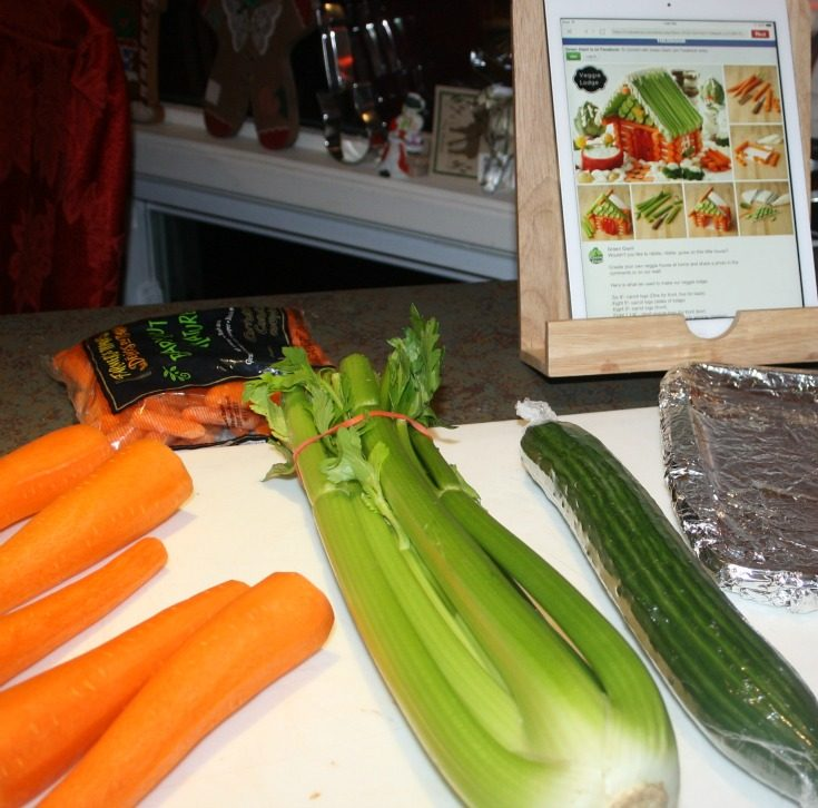 veggies on the counter