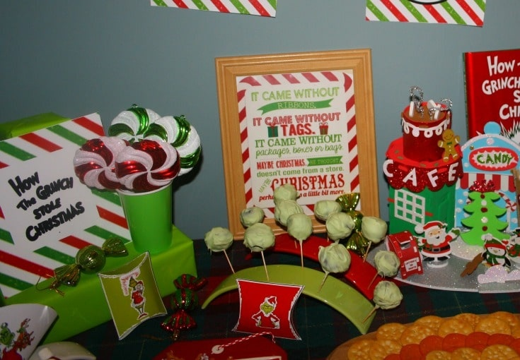 Whoville Party and Grinch Truffles