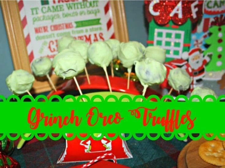 grinch oreo truffles fb