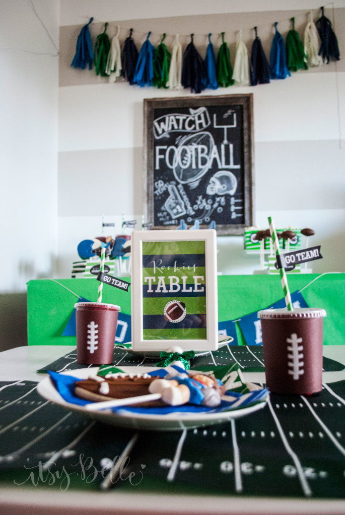 super bowl game table