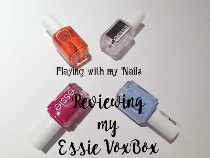 reviewing my essie vox box