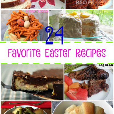 24 Favourite Easter Recipes