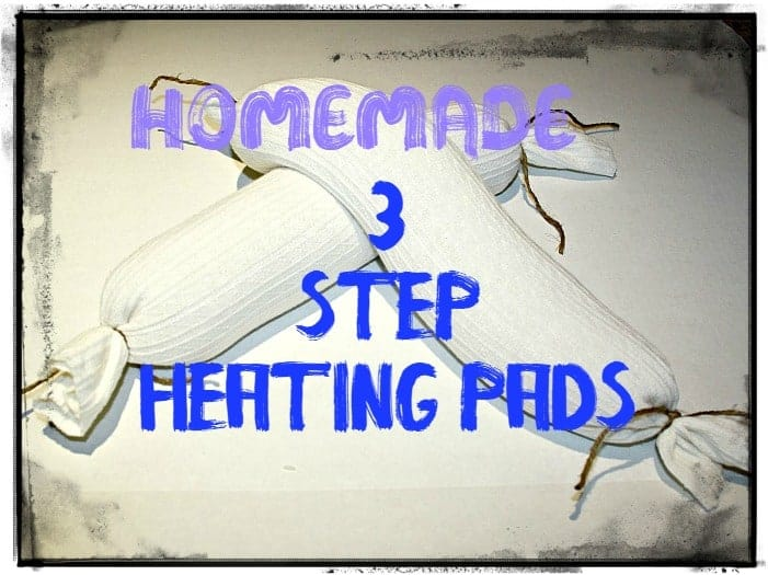 homemade rice heating bag