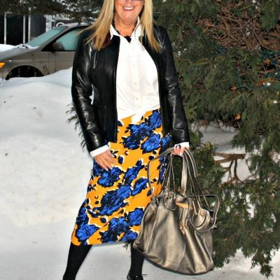 On Target with a Giant Floral and A Labour of Fashion Link Up