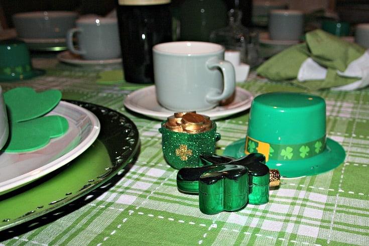 St Patrick's tablescape 1