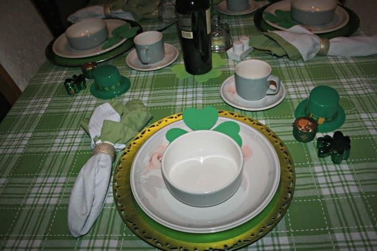 St Patrick's tablescape 6