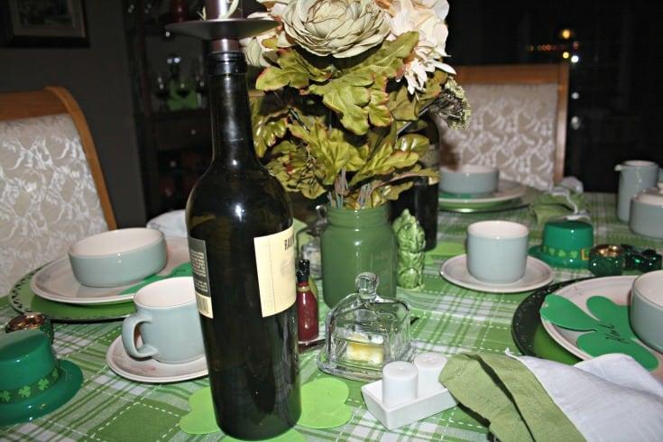 St Patrick's tablescape 7
