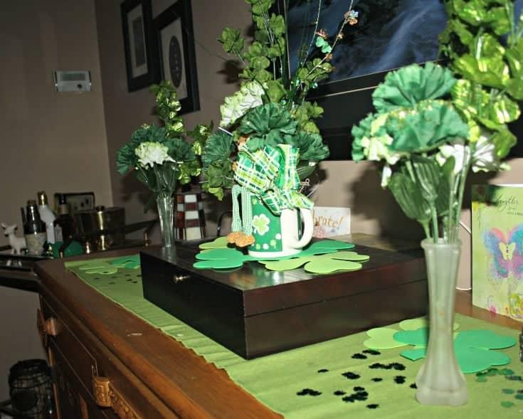 St Patrick's festive buffet