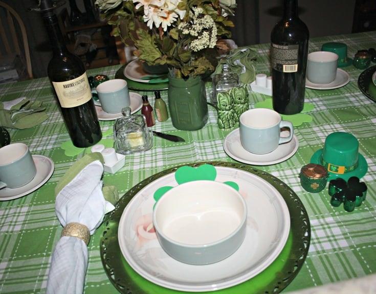 St Patrick's tablescape 8