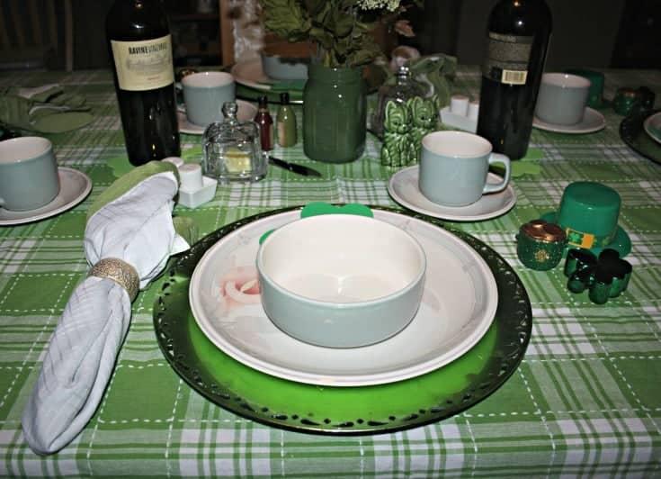 St Patrick's tablescape 9