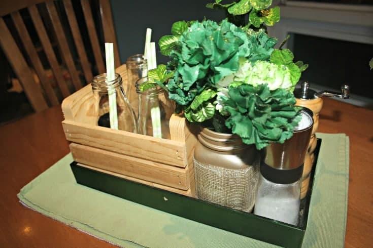 St Patrick's festive Kitchen Table