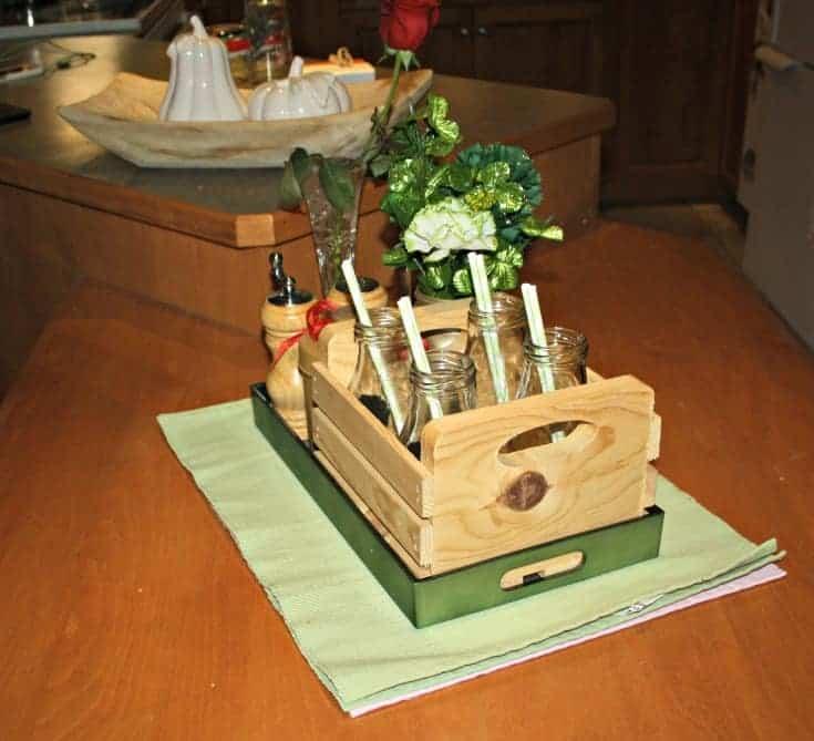 St Patrick's festive Kitchen Table 3