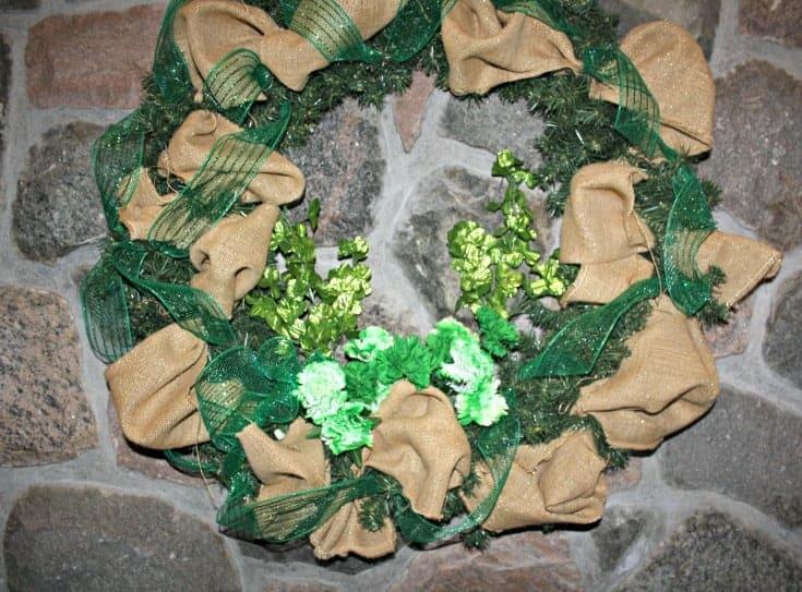 St Patricks Day Wreath 4