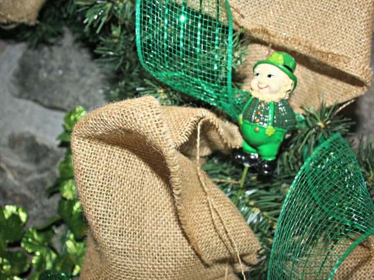 St Patricks Day Wreath 1