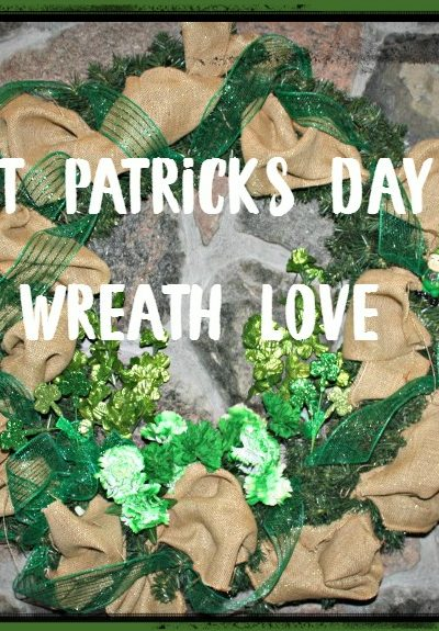 2016 St Patrick's Day Wreath to Celebrate the Green