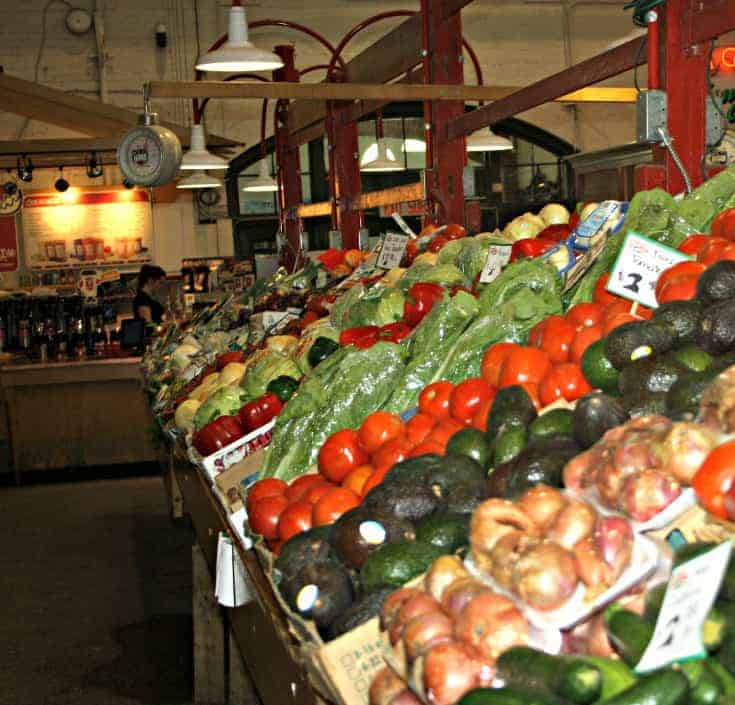 produce from Pete's Frootique