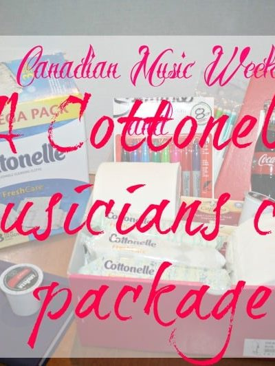 Cottonelle Care Package for Canadian Music Week