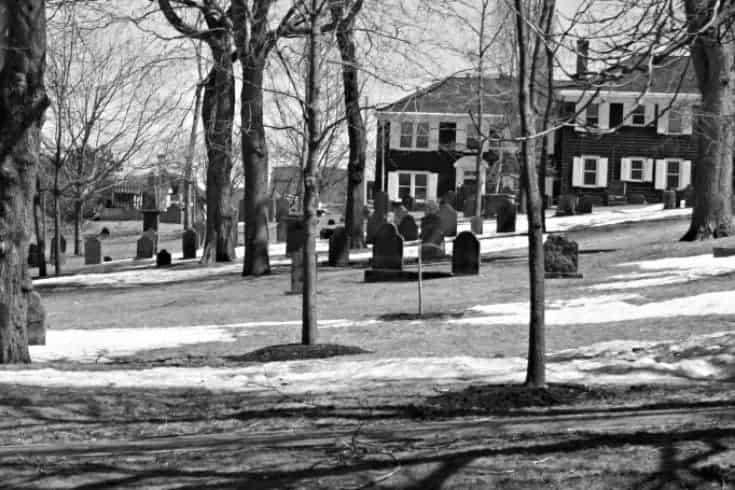 Loyalist burial ground in Saint John