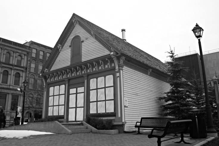 Uptown Saint John New Brunswick, waterfront