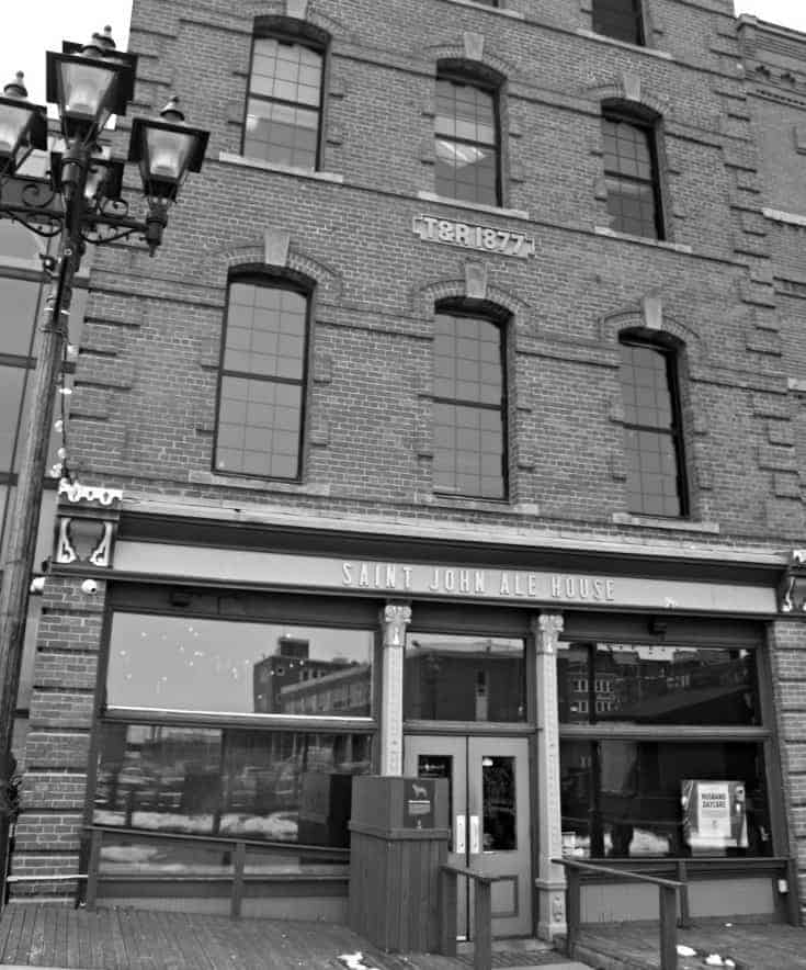 Uptown Saint John New Brunswick, Ale House