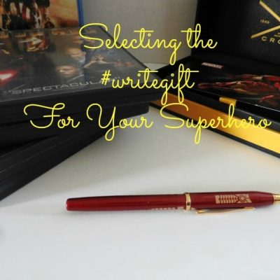What is the #writegift for the Special Superhero in Your Life