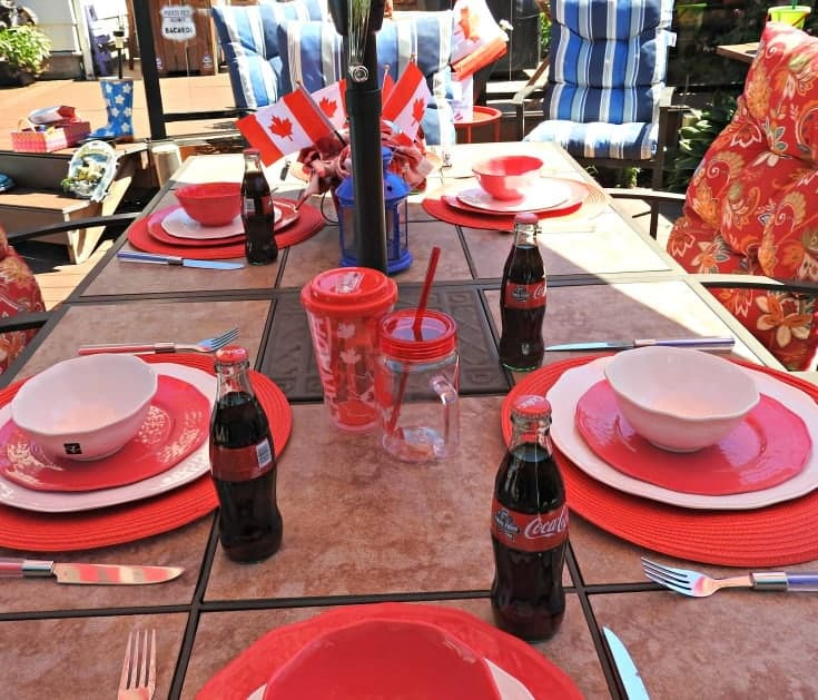 #canadianpide #canadaproud Canada Day Tablescapes with President s Choice