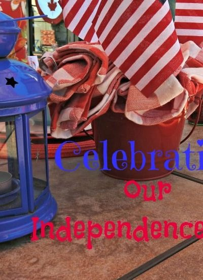 July 4th and Celebrating #Independenceday with a Tablescape