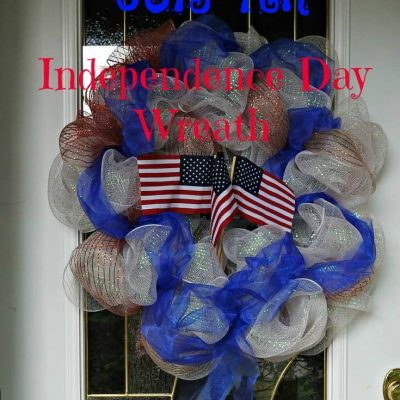 July 4th Door Wreath