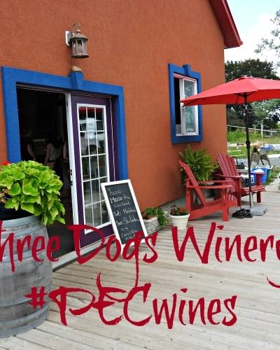 Three Dogs Winery and a first Visit