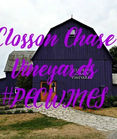 Closson Chase Vineyards and A Labour of Fashion linkup