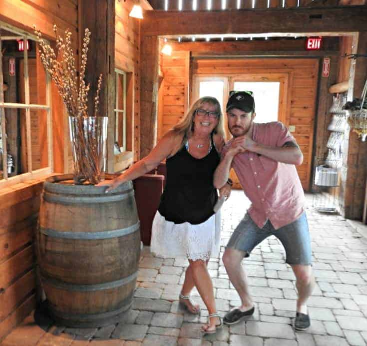 fun at clossun chase vineyards