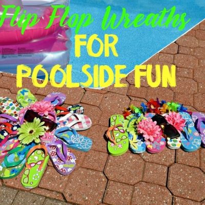 Long Weekend Fashions and DIY Poolside Wreaths