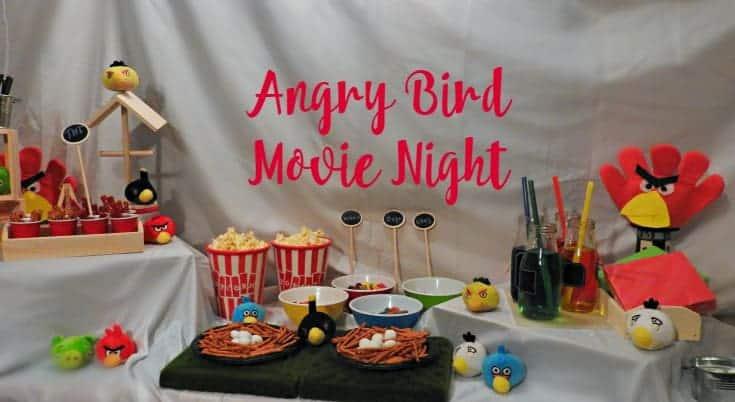 Angry Bird Movie night