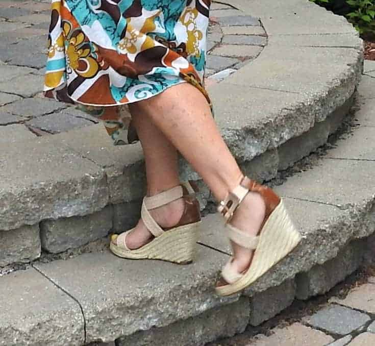 wedge sandals from Giant Tiger