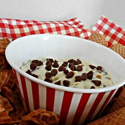Cannoli Dip with Cottage Cheese