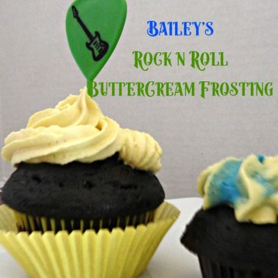 Bailey's Butter Cream and Rainbow Cupcakes