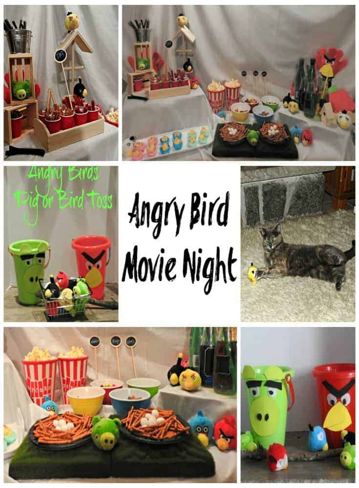 Angry Birds Movie Night at home with WFM