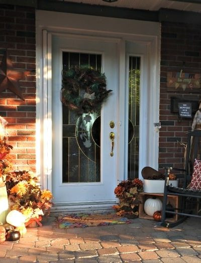 Fall Scapes, Porch Decor and Summer Neon