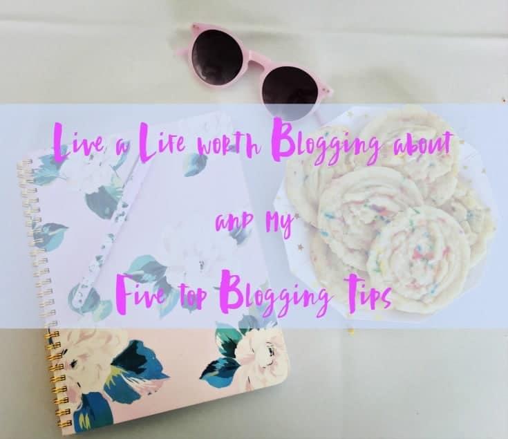 five top blog tips