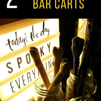 Halloween Bar Carts