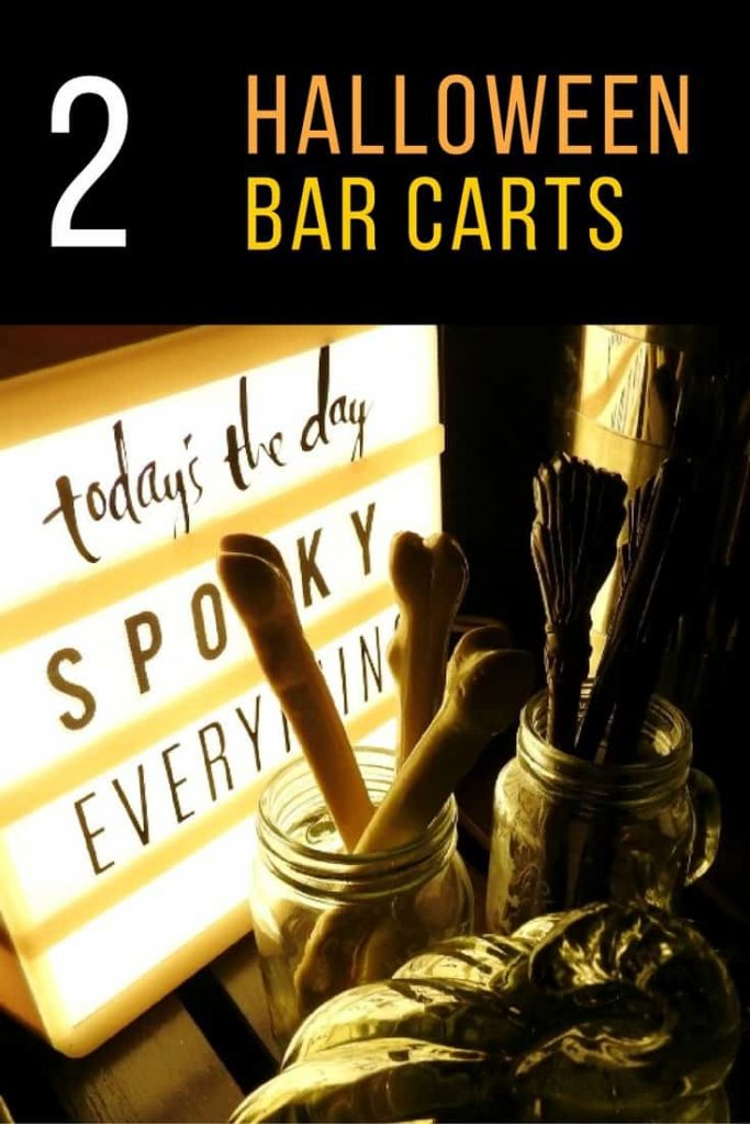Halloween Bar Carts