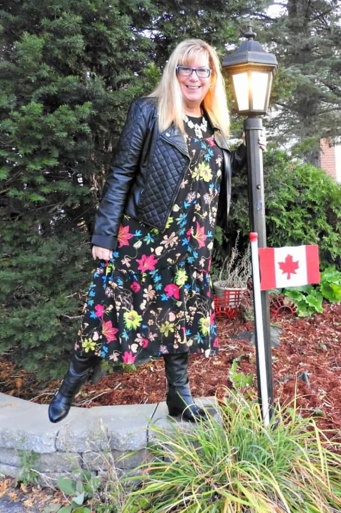 bc13ebac3cb How to Transition and H   M Summer Dress for Fall - A Labour of Life
