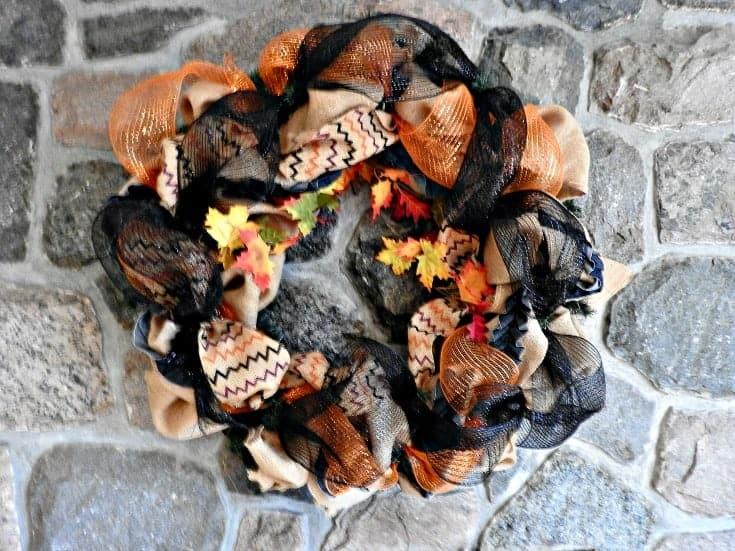 fall decomesh wreath
