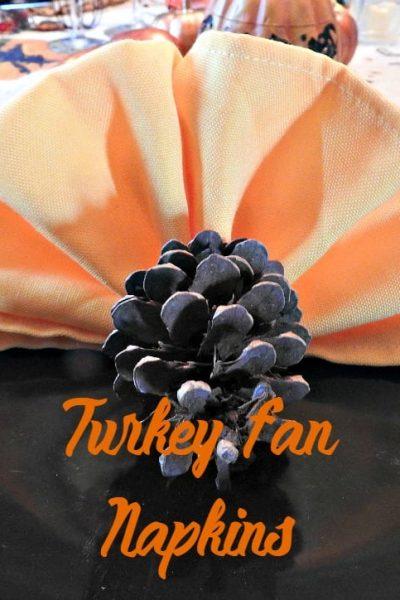 Turkey Napkins for Thanksgiving